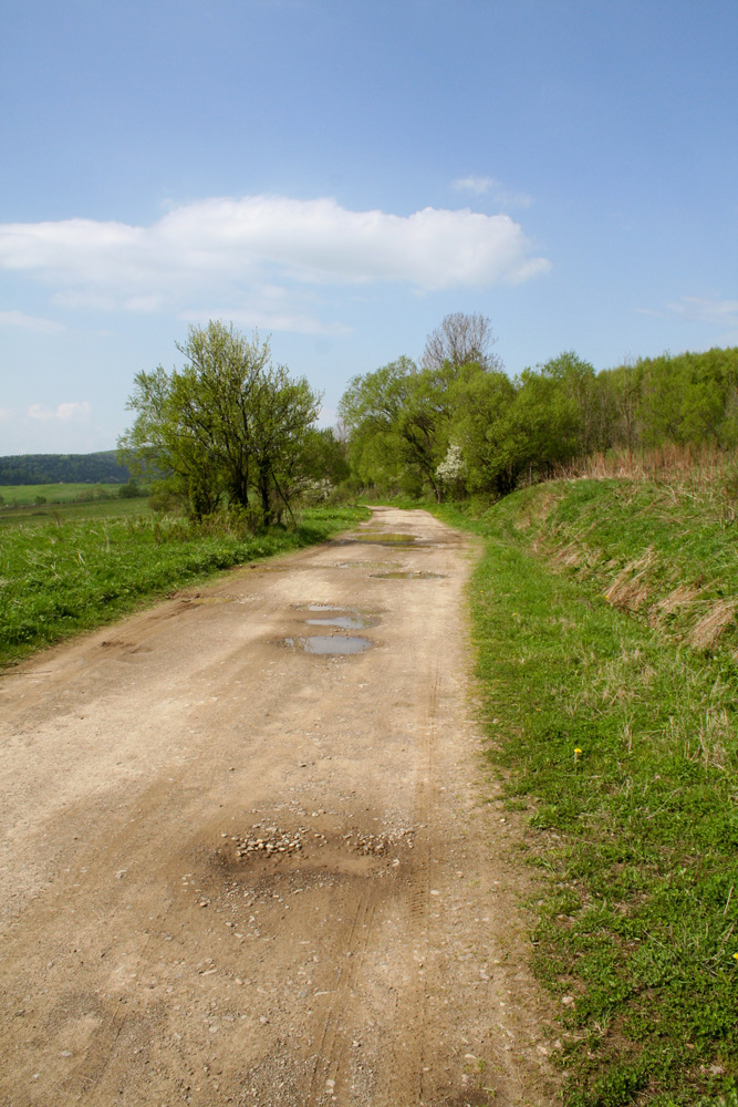 Lipowiec, Czeremcha, Čertižné – majowy spacer.