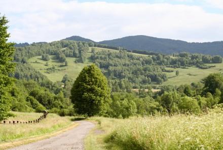 Park Narodowy Połoniny na Słowacji.