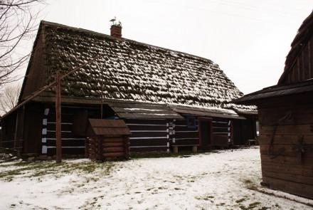 Skansen w Zyndranowej.