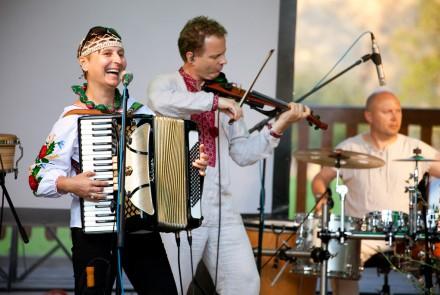 Fotorelacja z koncertu zespołu Czeremszyna podczas Festiwalu Kultur Pogranicza w Rudawce Rymanowskiej.