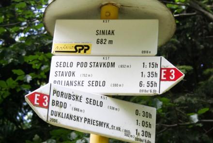 Barwinek, Medvedie, Przełęcz Dukielska